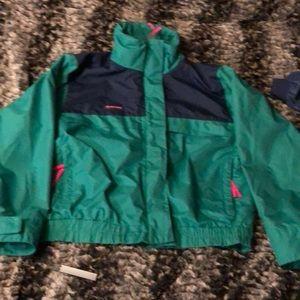 2 in 1 coat/snow pants